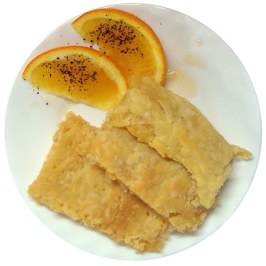 Слоёный пирог с лимоном