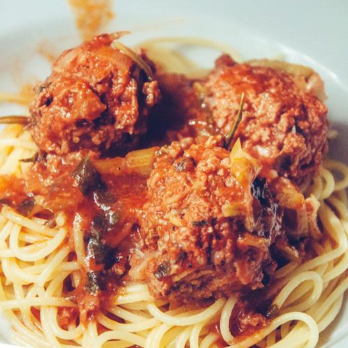 Тефтели в итальянском соусе